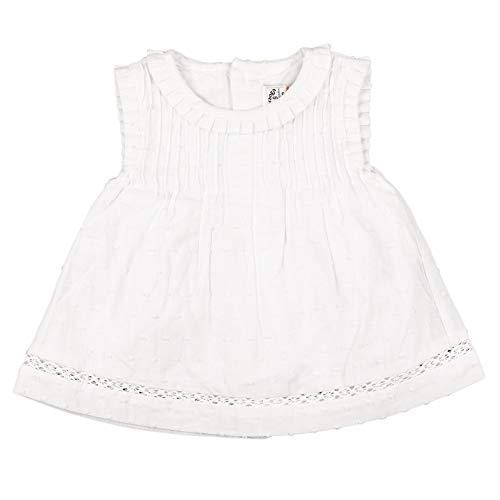 Charanga VESTITA Vestido, BLANCO, 9-12 para Bebés