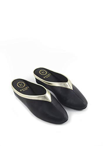 Kosma Menorca Zapatillas de Piel de Estar por casa (38)