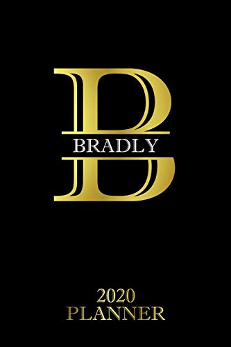 Bradly: 2020 Planner - Personalised Name Organizer - Plan Days, Set Goals & Get Stuff Done (6x9, 175 Pages) (Designer Planners For Gift, Band 218)