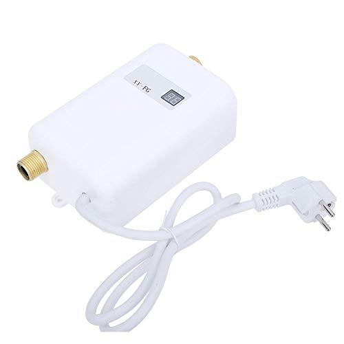Lecxin Kleiner durchlauferhitzer, Kleine Durchlauferhitzer Elektro Durchlauferhitzer Teile Badezimmer Küche (EU-Stecker 220V)