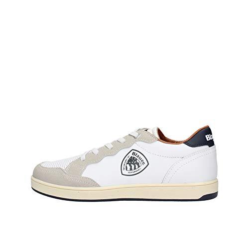 Blauer USA Kinder Schuhe S0Buzz03/Lea Sneaker für Kids, Farbe:Weiß, Größe:EUR 37