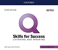 Q: Skills for Success: Intro Level: Listening and Speaking Audio CDs