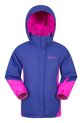 Mountain Warehouse Icicle Kids Snow Jacket - Waterproof Winter Coat Grape 13 Years