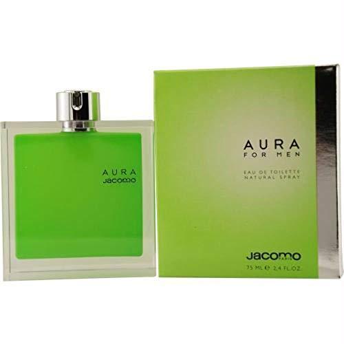 Aura for Men By Jacomo Eau-de-toilette Spray, 2.4-Ounce