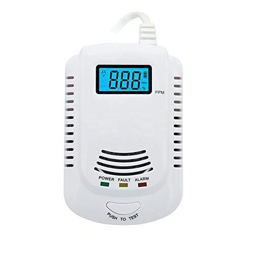 Intelligente Sprach Gas & Kohlenmonoxid Alarmverbindung Alarm Zwei-in-einem Alarm