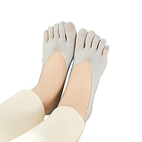 xiangqian Calcetines ortopédicos de compresión para mujer, calcetines de corte ultra bajo con lengüeta de viscosa transpirable