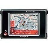 Navegador GPS Plata navegador , Multi-Touch, Flash Multi, Interno, Toda Europa, 15,8 cm Becker Active 6s CE Fijo 6.2 Pantalla t/áctil Negro 6.2