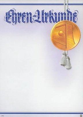 Albert Hoffmann Urkundenverlag Fußball / 915 / 965 / Tor / PC-Urkunden (170 g/m²) 10 Stk