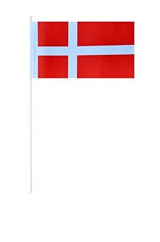 Flaggenfritze® Papierfahnen Dänemark