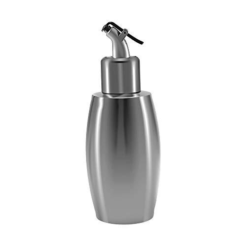 Cosaux Ölbehälter Edelstahl Ölspender Essig Ölspender Auslaufsicher Flasche Essig Sauce Werkzeug Dispenderflasche Oil Auslaufsicher Sauciere Küche WQ006