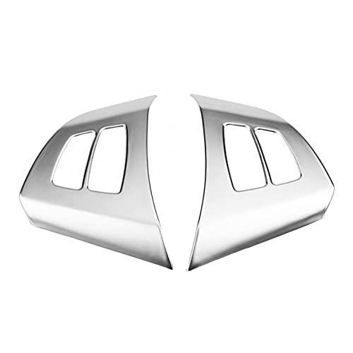 shiqi Ajuste For BMW X5 E70 2008 2009/2013 2013 Coche Estilo De Fibra De Carbono Interior Interior del Interruptor De La Cubierta del Interruptor De La Cubierta del Marco del Botón