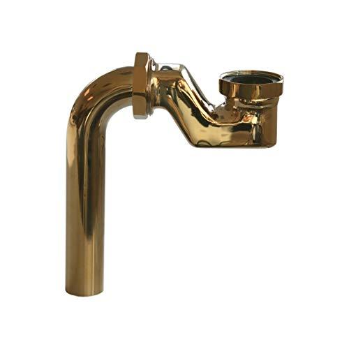 Design-Siphon für freistehende Badewanne PARIS PREMIUM Gold