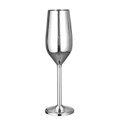 ZMK-720 Copa De Vino De Cobre, Plata, Oro Rosa, Acero Inoxidable, Copa De Jugo, Jugo De Champaña, Copa De Fiesta, Utensilios De Cocina, Bar @ W