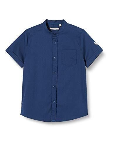 Mexx Jungen 952110 Hemd, Blau (Poseidon 194033), (Herstellergröße: 110)