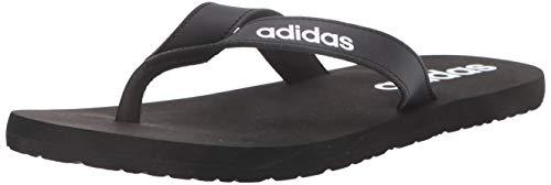 adidas Men's Eezay FLIP Flop Slide Sandal, Black, 8 M US