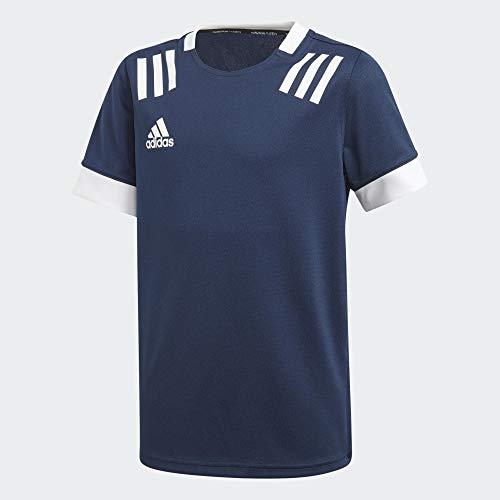 adidas TW 3s JSY Y Camiseta, Unisex niños, Maruni/Blanco, 164