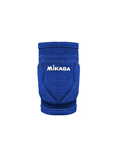 Mikasa, Knieschoner Volleyball MT10, Blue Royal, S Unisex-Erwachsene, S