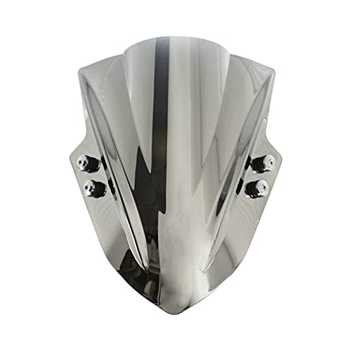 Parabrisas de Motocicletas Soporte Universal para Parabrisas de Vidrio para Pantalla de Parabrisas Manillar de 7/8'o 1' para B&MW para T&RIUMPH para A&prilia Deflector de Viento (Color : K)