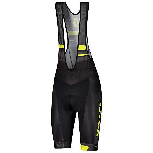 Scott RC Team ++ Fahrrad Trägerhose kurz schwarz/gelb 2021: Größe: XXL (58)