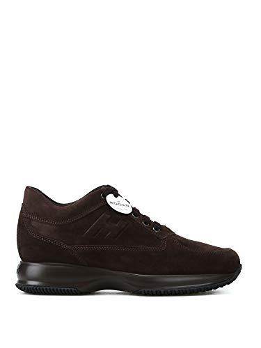 Hogan Sneakers Uomo Hxm00n09042hg0s807 Pelle Marrone