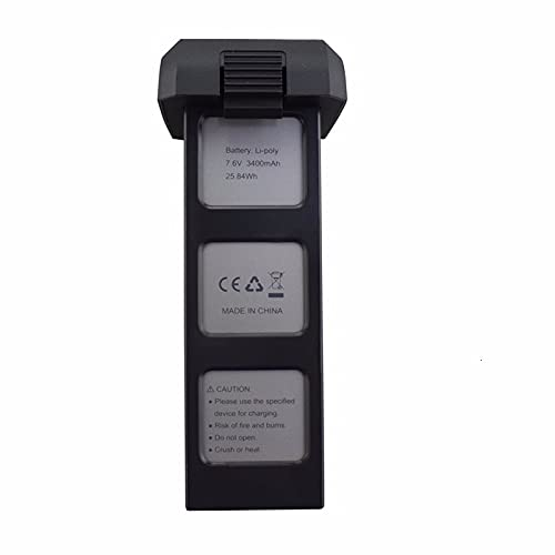 OUYBO Batteria originale 7,6 V 3400mAh LI-PO per Bug MJX 4W B4W 7.BATTERIA 6V PER PENSENSIC D88 EX3 HS550 X11 Ricambi dei droni RC Accessori per batterie di parti RC (Color : 1PCS B4W)