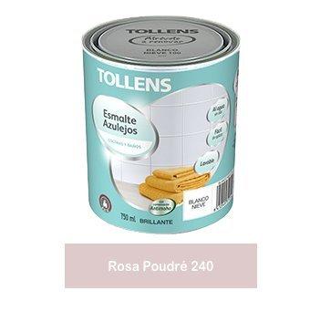 Tollens - Esmalte para azulejos al agua 750 ml (Rosa Poudré 240)