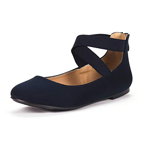 Top 10 best selling list for navy blue flat ankle strap shoes