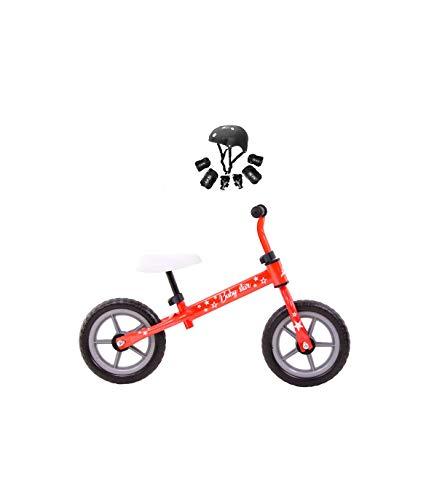 Grupo K-2 Wonduu Minibike Bicicleta para Niños Modelo Baby Star Rojo Fluor