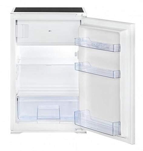 Bomann KSE 7805 Einbau-Kühlschrank, 120 Liter gesamt (105 L Kühlen; 15 L Gefrieren), LED Innenraumbeleuchtung, 4 Sterne-Kennzeichnung, weiß