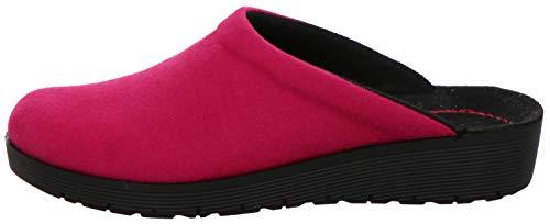 Rohde Damen 4320 Roma Pantoffeln Hausschuhe, Größe:40 EU, Farbe:Pink