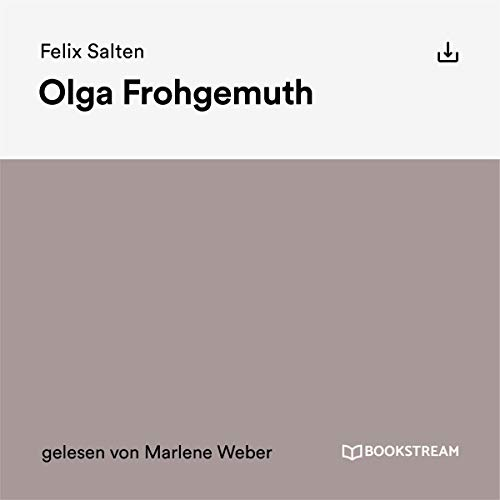 Olga Frohgemuth audiobook cover art
