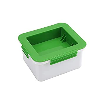Tofu Press Tofu Presser Maker for Easily Remove Water from Tofu for More Delicious - Cheese Drainer Water Removing Machine Cheese Presser Gadget Tool Dehydrator Safe for Dishwasher - Green