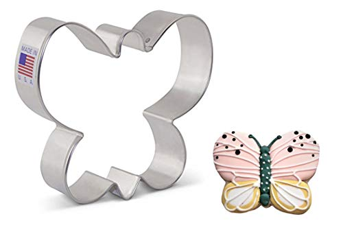 Ann Clark Cookie Cutters Cortador de galletas mariposa - 8,9 cm