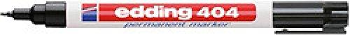 Marcador permanente Edding 404 Punta Redonda 0,75 mm Negro (
