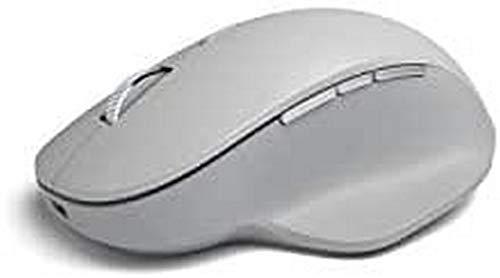 Microsoft Surface Precision Mouse - Souris - ergonomique - pour droitiers - optique - 6 boutons - sans fil, filaire - Bluetooth 4.0, USB 2.0 - gris clair - commercial