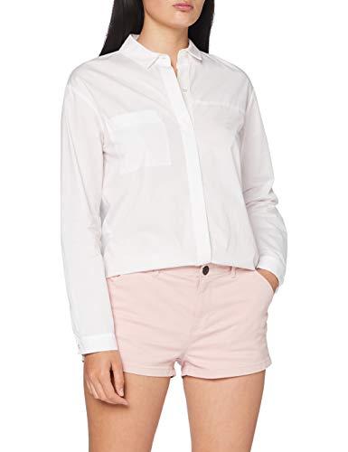 Superdry Damen Chino Hot Shorts,  Orange (Peach Whip 6SV), 36 (Herstellergröße:12)