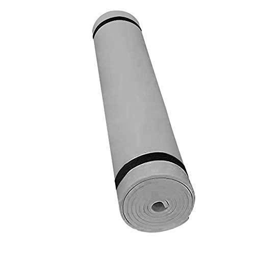 Alfombra de yoga antideslizante para principiantes 4 mm 173x61cm Ejercicio Deportes Colchón Gimnasia ambiental Colchón-gris