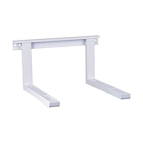 PureMounts MWH-03 Supporto universale / a microonde per montaggio a parete Bracci di estensione regolabili in lunghezza (385-535 mm), larghezza braccio: 43 cm, capacità di carico: max. 35,0 kg, bianco