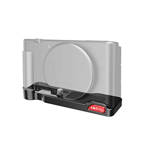 XBERSTAR SONY ZV1カメラに対応 プレート 手を握る ケージ ホルダー ハンドグリップ 取り外しが簡単 1/4ねじとレンチ付き 拡張マウント部品 拡張ブラケット 撮影補助ツール アクセサリー