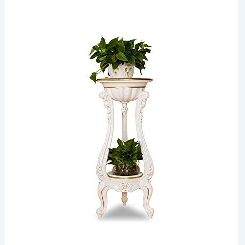 SXLHZPD Soportes para Plantas Soportes para Flores Simples De Suelo   Soporte De Planta para Macetero De Rábano Verde Chlorophytum   para Balcón De Jardín Interior Al Aire Libre (Color : Gold)