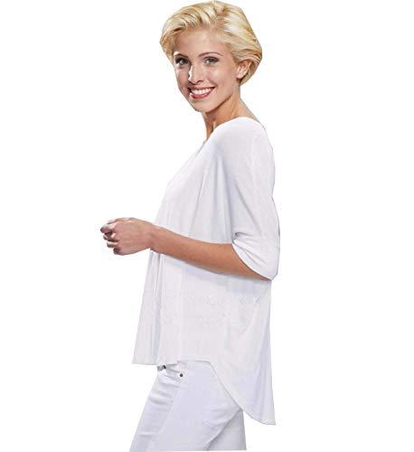 Whitewear Oversize Shirt Tinka Sweatshirt OP Praxis Pflege Kleidung Weiss weiß Gr. XL