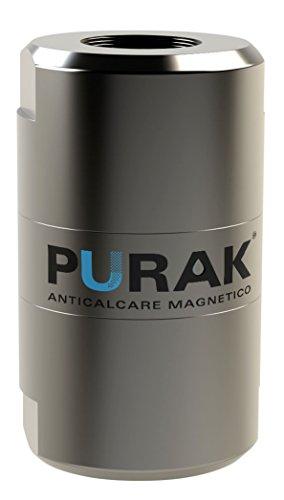 """PURAK, PATENTIERT Kalkschutz Magnetischer Anti Kalk Magnet 1/2\"""" Anschluss Zulaufschlauch, 100{236c7b5ce4a1359ca0df12bfc717eba6aacfc092ae29f4b9c10f5484538dbe6d} Made in Italy, Durchfluss 15 Lt/Min, Modell PK.3040-12"""
