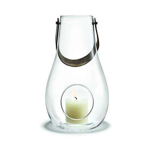 Holmegaard DWL Laterne, Glas, klar, 25 cm