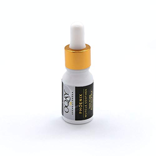 OQAY | Phoenix Muscle Soother Essential Oil Blend | Black Pepper & Clove Bud Essential Oils - 10ml - 100% Pure