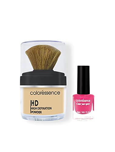 COLORESSENCE High Definition Face Makeup Loose Powder - Ivory Beige
