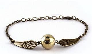 VEBE Quidditch Golden Snitch Bracelets chain fashion golden jewelry fan gift