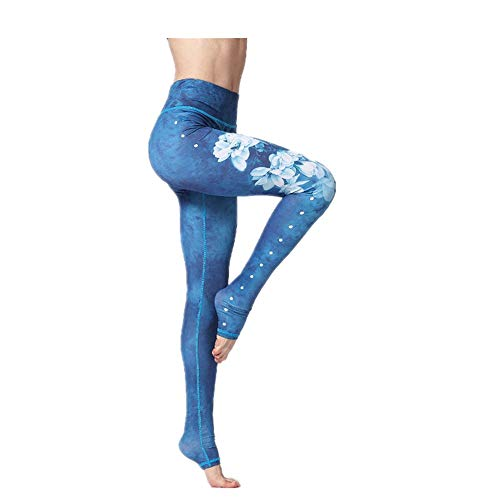 Zjcpow Pantalones de yoga para mujer, extra largos, sin costuras, de cintura alta, elásticos, para entrenamiento, gimnasio, correr, deportes, adelgazar pantalones activos (color: #2, tamaño: S)