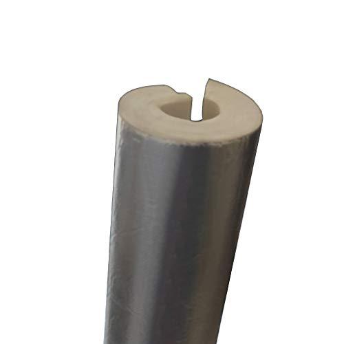 ZAYZ Rohrisolierung Vorgeschnitten Selbstklebende Solar-Hot-Cold-Rohre,Feuerrohr,PPR-Rohr,Unterirdische Isolationsschläuche für Innen- und Außenbereiche,3-TLG (Color : 43mm, Size : Pack of 3)