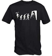 6TN Camiseta Estampada Hombre Evolución de la Escalada