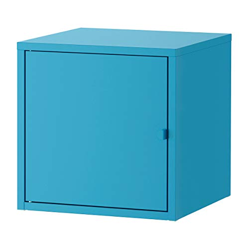 Mueble LIXHULT 35x35x35 cm metal/azul